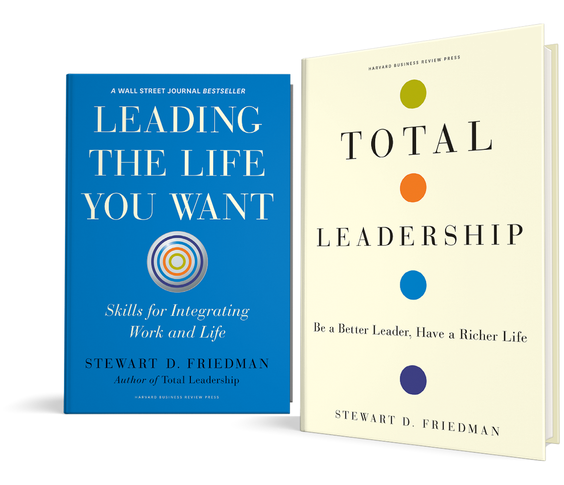 total leadership Total leadership is a game-changing blueprint for how to perform well as a leader not by trading off one domain for another, but by finding mutual value among all four stew friedman shows you how to achieve these four-way wins as a leader who can.