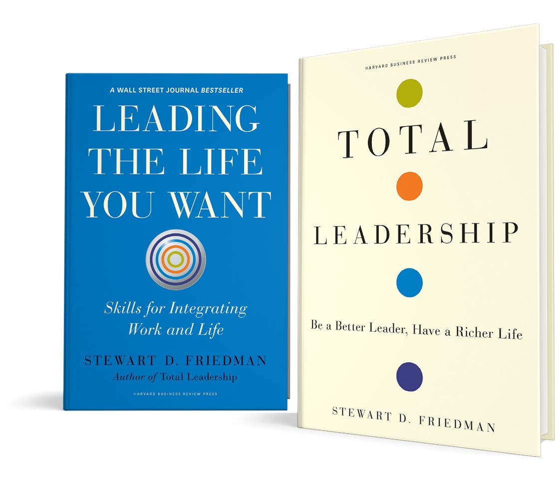 Wharton Total Leadership Leadership Development Work Life